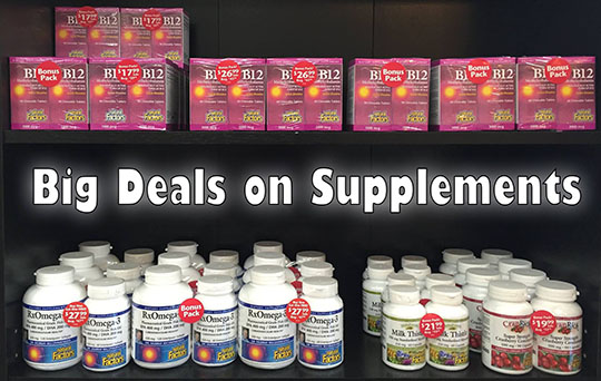 Big Deal on Supplements