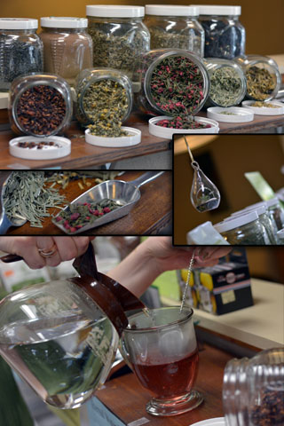 We have all kinds of specialty herbs and teas.